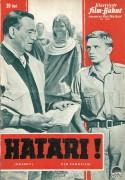 6341: Hatari ( Howard Hawks )  John Wayne, Hardy Krüger, Elsa Martinelli, Red Buttons,