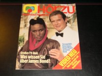 Hörzu 1985/35:  James Bond 007  ( R. Moore & Grace Jones )