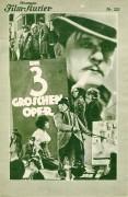 IFK: Nr: 222 :  Die 3 Groschen Oper ( G. W. Pabst ) Rudolf Forster, Carola Neher, Reinhold Schünzel, Fritz Rasp, Hermann Thimig, Paul Kemp, Herbert Grünbaum,