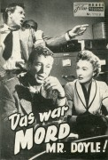 1129: Das war Mord Mr. Doyle! (Gerd Oswald) Barbara Stanwyck,  Fay Wray, Sterling Hayden, Raymond Burr, Royal Dano, Virginia Grey, Dennis Cross, Robert Griffin