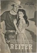 Der schwarze Reiter ( Angel and the bad man ) John Wayne, Gail Russell, Bruce Cabot,