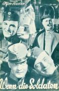 IFK: Nr: 239 :  Wenn die Soldaten ... ( Karl Farkas ) Otto Wallburg, Gretl Theimer, Ida Wüst, Hermann Thiemig, Paul Heidemann, Ernst Verebes, Jack Mylong Münz, Oskar Marion, Charlotte Ander, Eugen Rex,