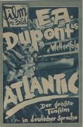 """Film im Bild 28 :  Atlantic ( E. A. Duont """" s ) Fritz Kortner, Else Elster, Julia Serda, Willy Forst,"""