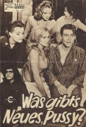 4117: Was gibts Neues, Pussy ? (Clive Donner) Romy Schneider, Peter Sellers, Peter O'Toole, Capucine, Paula Prentiss, Ursula Andress, Woody Allen, Edra Gale, Catherine Schaake, Jess Hahn, Eleanor Hirt, Nicole Karen, Jean Paredes