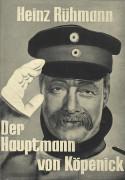 Der Hauptmann von Köpenick ( Helmut Käutner ) Heinz Rühmann, Hannelore Schroth, Martin Held, Walter Giller, Maria Sebaldt, Siegfried Lowitz,