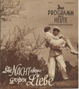 1460: Die Nacht der grossen Liebe,  Gustav Fröhlich,  Novotna,
