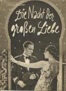 1983: Die Nacht der großen Liebe,  Jarmila Novotna, G. Fröhlich,