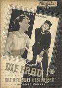 236: Die Frau mit den zwei Gesichtern,  Greta Garbo,