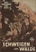 386: Schweigen im Walde, ( Ludwig Ganghofer )  Rudolf Lenz,