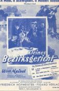 Kleines Bezirksgericht, Hans Moser, Ida Wüst,