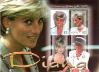 Nevis 1997:  Prinzessin Diana  Riesen Block  Postfrisch **
