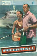 07: Feuerball,  ( James Bond )  Sean Connery,  Claudia Auger,