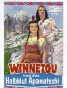 13: Winnetou und das Halbblut Apanatschi,  Uschi Glas,