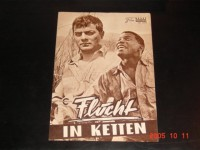 1519: Flucht in Ketten (Stanley Kramer) Tony Curtis, Sidney Poitier, Lon Chaney, Theodore Bikel, Charles McGraw, King Donavan, Claude Akins, Lawrence Dobkin, Whit Bissell, Carl Switzer, Kevin Coughlin, Cara Williams
