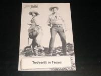 1823: Fuzzy: Todesritt in Texas (Sam Newfield) Bill Carson,  Fuzzy St. John, Carol Parker, Kermit Maynard, Jack Ingram, Roy Brent, George Chesebro, Jim Aubrey