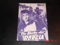 1936: Die Rache der Borgia (G. M. Scotese) Fausto Tozzi,  Agnes Laurent, Kerima, Sergio Fantoni, Luisa Mattioli, Sandrina, Olga Silbelli, Alberto Farnese