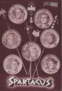 2026: Spartacus ( braune Ausgabe ) (Edward Lewis) Kirk Douglas,  Jean Simmons,  Tony Curtis, Laurence Olivier, Charles Laughton, Peter Ustinov, John Gavin, Nina Foch, Herbert Lom, John Ireland,