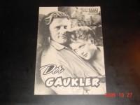 2132: Der Gaukler (Edward Dmytryk) Kirk Douglas,  Milly Vitale,  Oscar Karlweis, Paul Stewart, Joey Walsh, Alf Kyellin, Beverly Washburn