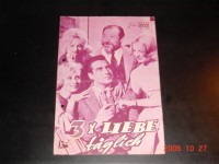 2138: 3 x Liebe täglich (Ralph Thomas) Michael Craig,  Virginia Maskell, Leslie Phillips, James Robertson Justice, Carole Lestley, Reginald Beckwith, Nicholas Phipps, Liz Frasez, Joan Sims, Ambrosine Phillpotts, Moira Redmond, Nicholas Parsons