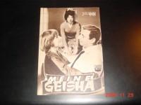 2647: Meine Geisha ( Jack Cardiff ) Shirley MacLaine,  Yves Montand, Edward G. Robinson, Bob Cummings, Yoko Tani