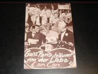 2901: Ganz Paris träumt von der Liebe (Can Can) (Walter Lang) Frank Sinatra, Shirley MacLaine, Maurice Chevalier, Louis Jourdan, Juliet Prowse