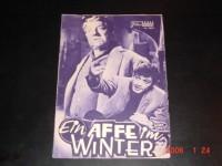 3005: Ein Affe im Winter (Henri Verneuil) Jean Paul Belmondo,  Jean Gabin, Suzanne Flon, Paul Frankeur, Hella Petri, Noel Roquevert, Gabrielle Dorziat