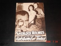 3007: Sherlock Holmes und das Halsband des Todes (Terence Fisher) Senta Berger, Christopher Lee, Hans Söhnker, Hans Nielsen, Ivan Desny, Leon Askin, Wolfgang Lukschy, Edith Schultze-Westrum