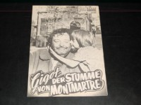 3020: Gigot der Stumme von Montmartre (Gene Kelly) Jackie Gleason, Katherine Kath, Gabrielle Dorziat, Jean Lefebvre, Jacques Marin, Albert Remy, Yvonne Constant, Albert Dinan, Diane Gardner