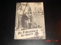 3113: Die 3 Musketiere der Meere ( Steno )  Anna Maria Pierangeli, Channing Pollock, Aldo Ray, Philippe Clay, Raymond Bussieres, Robert Alda