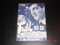 3311: Der Teufel mit der weissen Weste ()Jean-Pierre Melville) Jean Paul Belmondo, Serge Reggiani, Jean Desailly, Fabienne Dali, Michel Piccoli, Rene Lefevre, Aime de March, Monique Hennessy, Carl Studer, Marcel Cuvelier