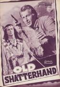 Old Shatterhand ( Karl May ) ( NFP ) ( Violett !  ) Lex Barker, Pierre Brice, Daliah Lavi, Guy Madison, Ralf Wolter, Gustavo Rojo, Rik Battaglia, Bill Ramsey,