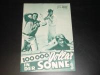 3854: 100 000 Doller in der Sonne (Henri Verneuil) Lino Ventura, Jean-Paul Belmondo, Reginald Kernan, Andrea Parisy, Gert Fröbe, Bernard Blier, Doudou Babet, Pierre Mirat