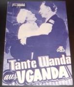 405: Tante Wanda aus Uganda (Geza v. Cziffra) Grethe Weiser, Georg Thomalla, Rudolf Platte, Ingmar Zeisberg, Lucie Englisch, Al Hoosman