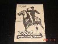 4103: Zorros grausamer Schwur (Richard Blasco) Tony Russel, Marie Jose Alfonso, Robert Paoletti, Jesus Puente, Mirella Maravidi, Jose Rubio, Angelo Cecconi, Jose Maria Seoane