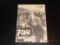 4146: 7 Tage ohne Gnade (Andrew Marton) Keir Dullea,  Jack Warden, James Philbrook, Ray Daley