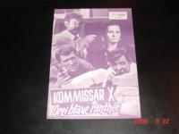 4892: Kommissar X: 3 blaue Panther, Brad Harris, Corny Collins,
