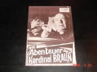 4896: Die Abenteuer des Kardinal Braun,  Heinz Rühmann,