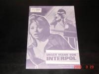 4970: Unser Mann von Interpol,  Marilu Tolo,  Jean Claude Bercq,