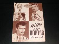 502: Hilfe ! der Doktor kommt (Doctor at large) (Ralph Thomas)  Dirk Bogarde,  Shirley Eaton, Muriel Pavlow, Donald Sinden, Michael Medwin, James Roberts Justice