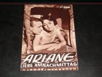 503: Ariane, Liebe am Nachmittag (Billy Wilder) Audrey Hepburn, Gary Cooper, Maurice Chevalier, John McGiver, Van Doude, Lise Bourdin