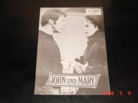 5540: John und Mary,  Dustin Hoffman,  Mia Farrow,