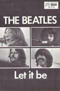 5731: The Beatles - Let it be,  John Lennon,  George Harrison,