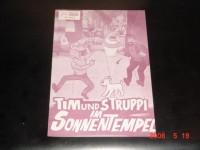 5833: Tim & Struppi im Sonnentempel,  ( Herge )