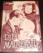644: Die Mausefalle (Rene Clair) Pierre Brasseur,  Henri Vidal, Georges Brassens, Dany Carrel, Raymond Bussières, Amédée