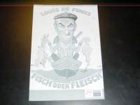 7134: Fisch oder Fleisch,  Louis de Funes,  Claude Rich,