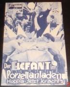 921: Der Elefant im Porzellanladen (Heinz Paul) Carl Wery, Mara Lane, Dietmar Schönherr, Loni Heuser, Jonny Cox, Robert Fackler, Paula Braendt