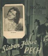 1718: Sieben Jahre Pech, Wolf Albach Retty, Hans Moser,