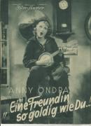 1506: Eine Freundin so goldig wie Du ! Anny Ondra, Felix Bressart, Siegfried Arno, Adele Sandrock,