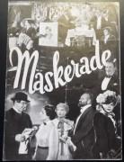 Maskerade ( Willy Forst )  Hans Moser, Paula Wessely, Olga Tschechowa, Adolf Wohlbrück, Peter Petersen, Walter Janssen, Julia Serda, Hilde von Stolz,