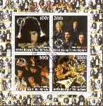Benin 2003:  Queen Block mit Sonderstempel,